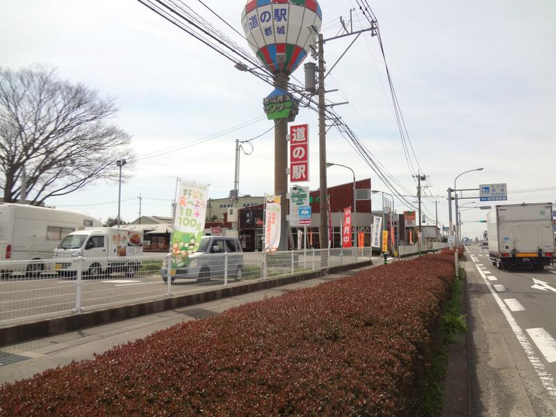 地場産業バス停前 道の駅
